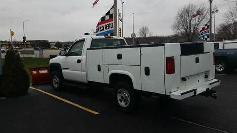 2002 GMC Sierra 2500HD for sale at SINDIC MOTORCARS INC in Muskego WI