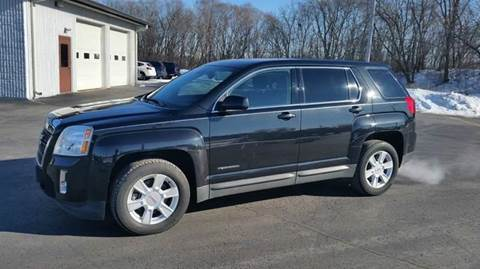 2012 GMC Terrain for sale at SINDIC MOTORCARS INC in Muskego WI