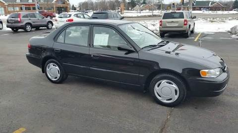1999 Toyota Corolla for sale at SINDIC MOTORCARS INC in Muskego WI