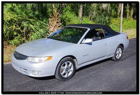 2001 Toyota Camry Solara for sale in Sarasota, FL