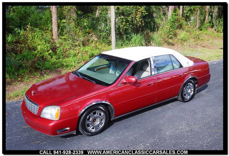 2005 Cadillac Deville 4dr Sedan In Sarasota Fl Sarasota Car Sales