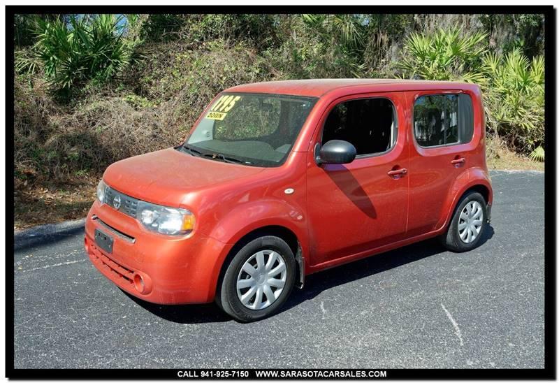 2009 Nissan Cube 18 4dr Wagon In Sarasota Fl Sarasota Car Sales