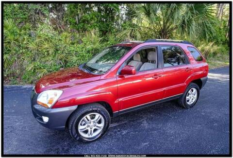 2007 Kia Sportage for sale at Sarasota Car Sales in Sarasota FL
