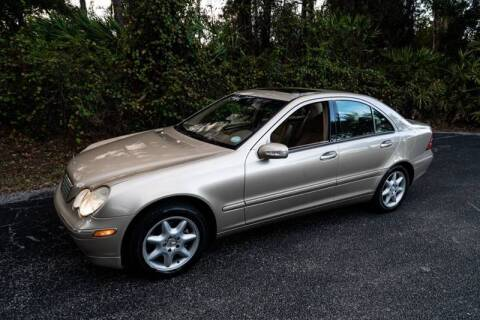 2002 Mercedes-Benz C-Class for sale at Sarasota Car Sales in Sarasota FL