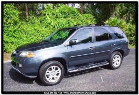 2006 Acura MDX for sale at Sarasota Car Sales in Sarasota FL