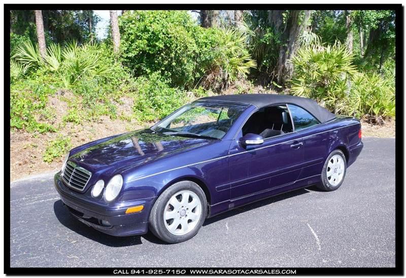 2003 mercedes benz clk clk 320 2dr cabriolet in sarasota for Mercedes benz of sarasota inventory