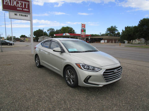 2017 Hyundai Elantra for sale at Padgett Auto Sales in Aberdeen SD