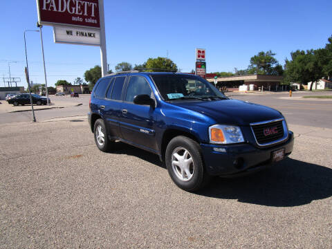 2004 GMC Envoy for sale at Padgett Auto Sales in Aberdeen SD