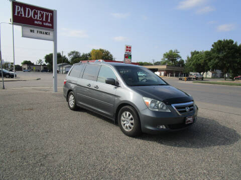 2007 Honda Odyssey for sale at Padgett Auto Sales in Aberdeen SD