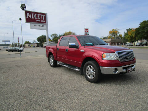 2008 Ford F-150 for sale at Padgett Auto Sales in Aberdeen SD