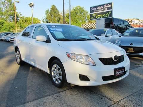 2010 Toyota Corolla for sale at Save Auto Sales in Sacramento CA