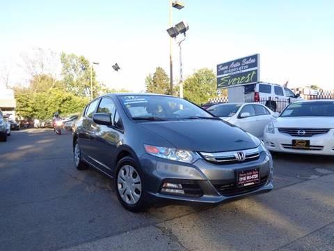2012 Honda Insight for sale at Save Auto Sales in Sacramento CA