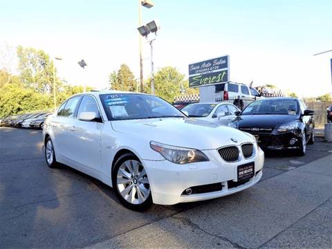 2005 BMW 5 Series for sale at Save Auto Sales in Sacramento CA