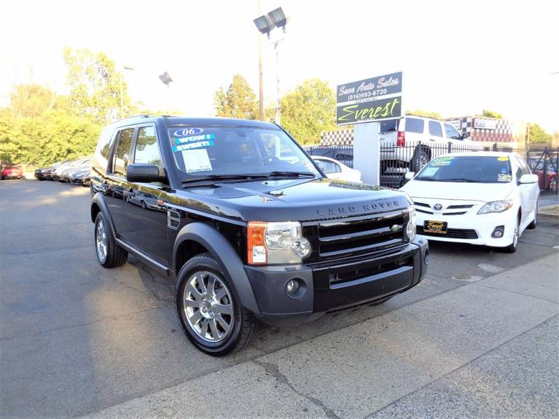 2006 Land Rover Lr3 4WD SE 4dr SUV In Sacrato CA - Save Auto Sales