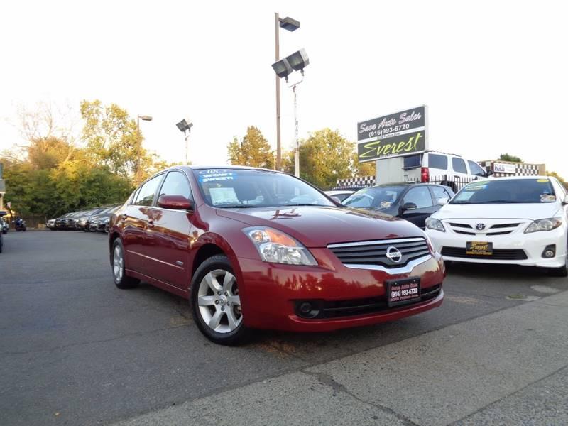 2008 Nissan Altima Hybrid 4dr Sedan   Sacramento CA