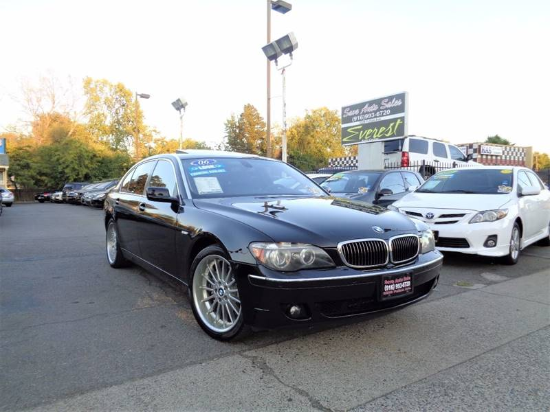 2006 Bmw 7 Series 750Li 4dr Sedan In Sacramento CA - Save Auto Sales