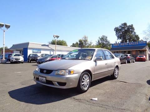 2001 Toyota Corolla for sale at Save Auto Sales in Sacramento CA