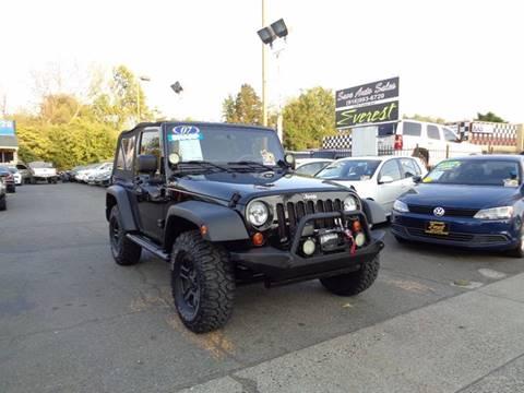 2007 Jeep Wrangler for sale at Save Auto Sales in Sacramento CA
