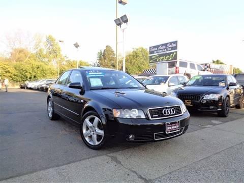 2005 Audi A4 for sale at Save Auto Sales in Sacramento CA