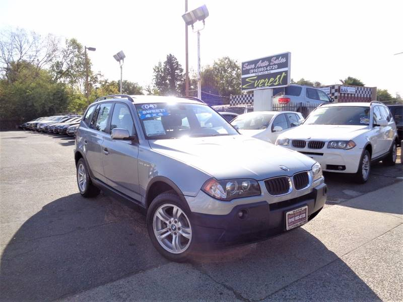 2004 Bmw X3 AWD 3.0i 4dr SUV In Sacramento CA - Save Auto Sales