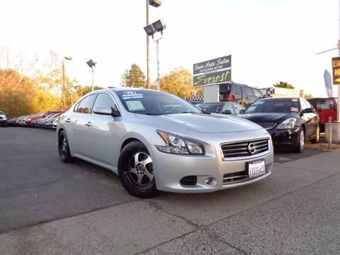 2012 Nissan Maxima for sale at Save Auto Sales in Sacramento CA