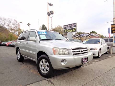 2002 Toyota Highlander for sale at Save Auto Sales in Sacramento CA