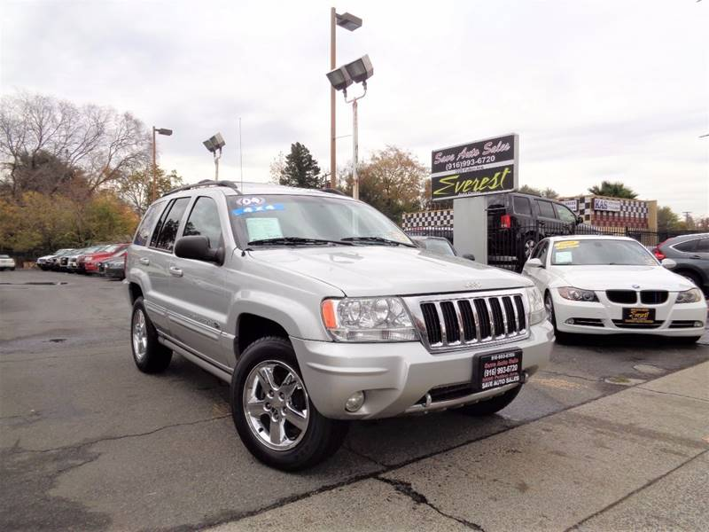 2004 Jeep Grand Cherokee Overland 4WD 4dr SUV   Sacramento CA