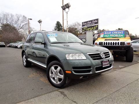 2004 Volkswagen Touareg for sale at Save Auto Sales in Sacramento CA