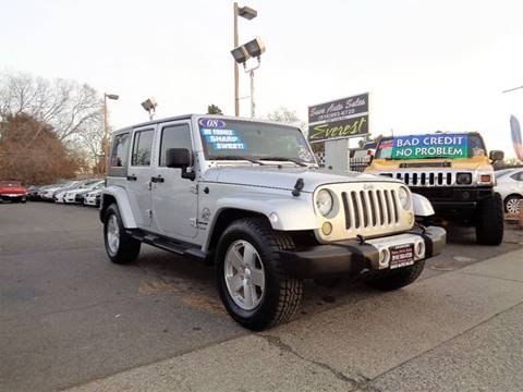 2008 Jeep Wrangler Unlimited for sale at Save Auto Sales in Sacramento CA