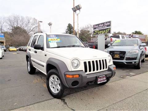 2003 Jeep Liberty for sale at Save Auto Sales in Sacramento CA