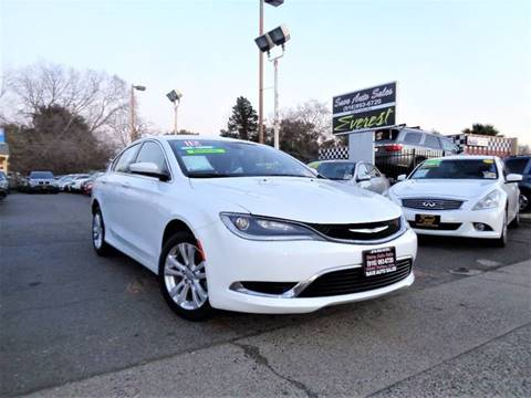 2015 Chrysler 200 for sale at Save Auto Sales in Sacramento CA