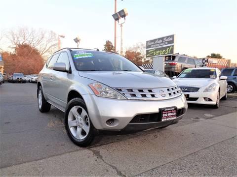 2005 Nissan Murano for sale at Save Auto Sales in Sacramento CA