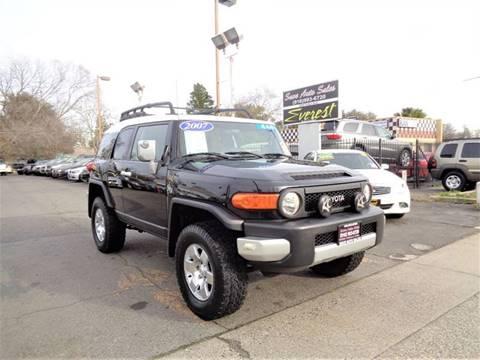 2007 Toyota FJ Cruiser for sale at Save Auto Sales in Sacramento CA