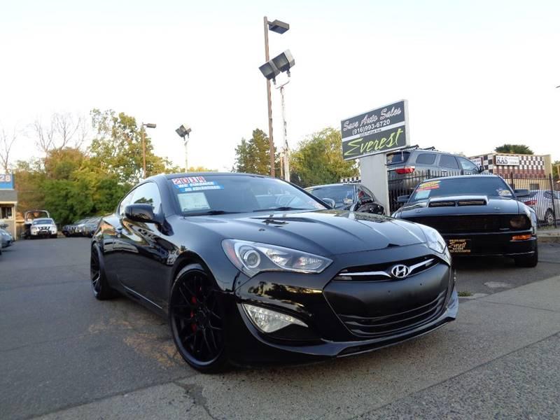 2014 Hyundai Genesis Coupe 2.0T R Spec 2dr Coupe   Sacramento CA