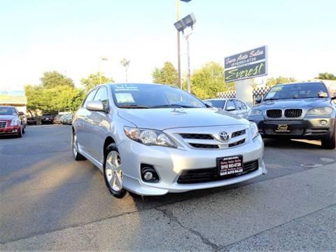 2011 Toyota Corolla for sale at Save Auto Sales in Sacramento CA