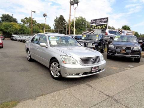 2004 Lexus LS 430 for sale at Save Auto Sales in Sacramento CA