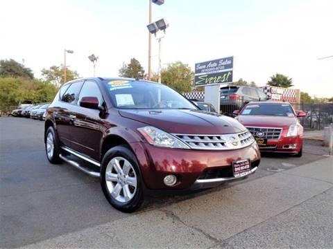2007 Nissan Murano for sale at Save Auto Sales in Sacramento CA