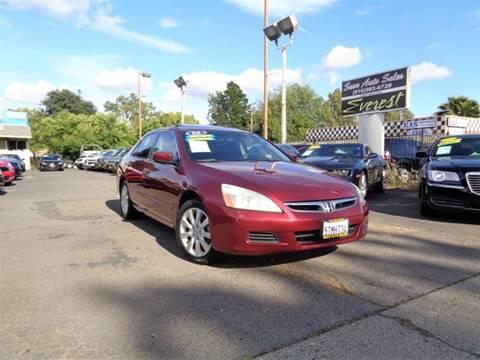 2006 Honda Accord for sale in Sacramento, CA