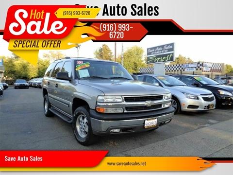2002 Chevrolet Tahoe for sale in Sacramento, CA