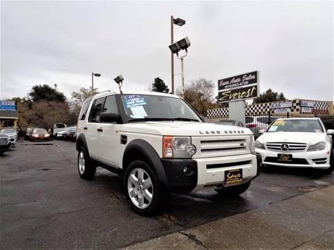 2007 Land Rover LR3 for sale in Sacramento, CA
