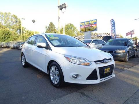 2012 Ford Focus for sale at Save Auto Sales in Sacramento CA