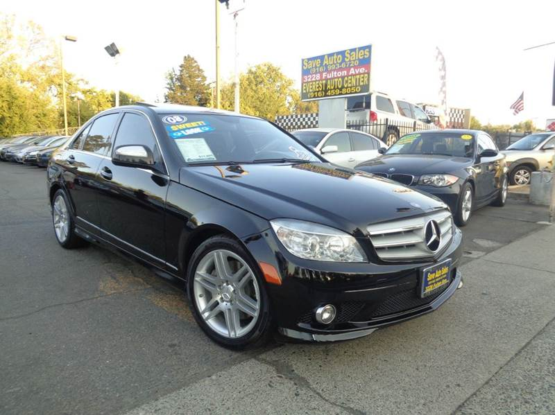 Superior 2008 Mercedes Benz C Class C350 Sport 4dr Sedan   Sacramento CA