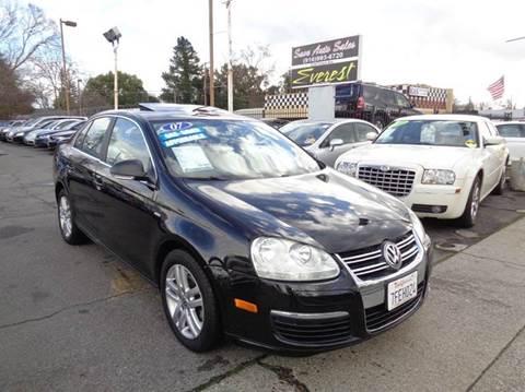 2007 Volkswagen Jetta for sale at Save Auto Sales in Sacramento CA