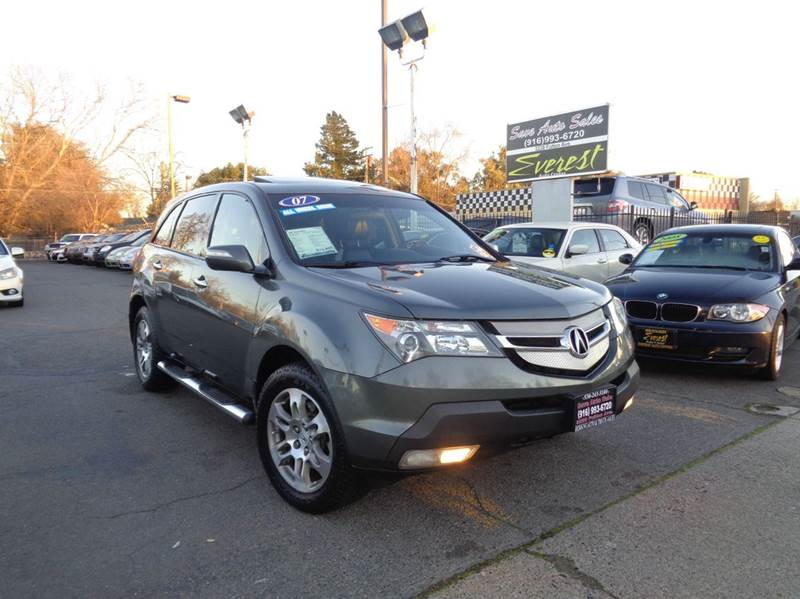 Acura Mdx SHAWD Dr SUV WTechnology Package In Sacramento CA - Acura mdx 2007 for sale