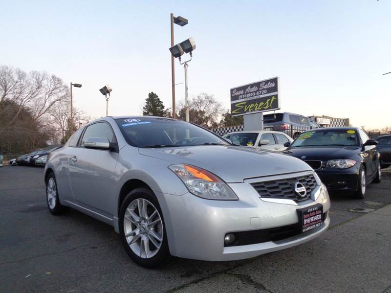 2008 Nissan Altima 3.5 SE 2dr Coupe CVT   Sacramento CA