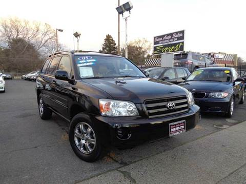 2005 Toyota Highlander for sale at Save Auto Sales in Sacramento CA