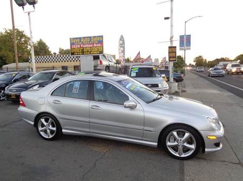2005 Mercedes-Benz C-Class for sale at Save Auto Sales in Sacramento CA