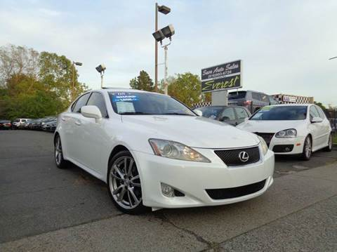 2008 Lexus IS 250 for sale at Save Auto Sales in Sacramento CA