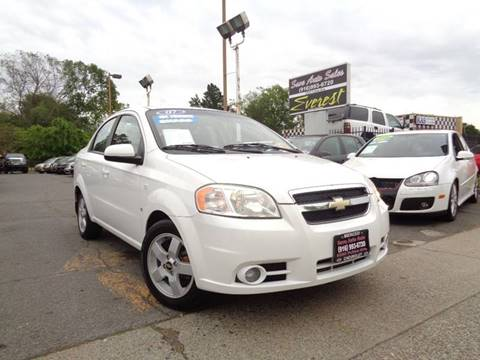 2007 Chevrolet Aveo for sale at Save Auto Sales in Sacramento CA