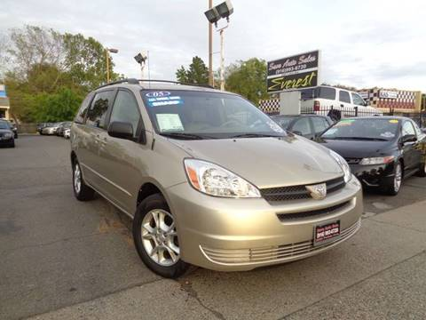 2005 Toyota Sienna for sale at Save Auto Sales in Sacramento CA